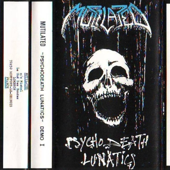 mutilated psychodeath lunatics 1988